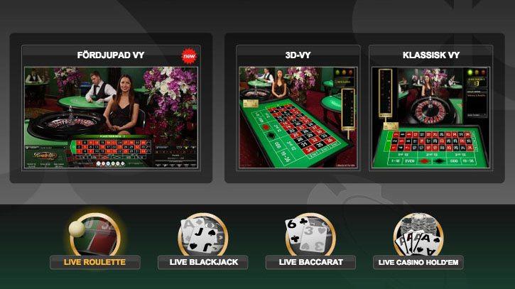Spela Live Blackjack Online på Casino.com Sverige